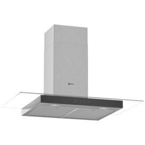 Neff D94GFM1N0B 90cm Flat Glass Chimney Hood – STAINLESS STEEL