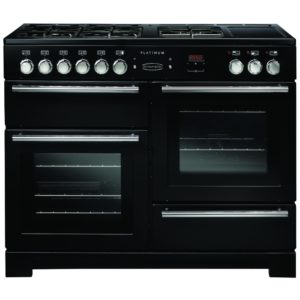 Belling COOKCENTRE DX 90DFTBLK 4105 90cm Dual Fuel Range Cooker – BLACK