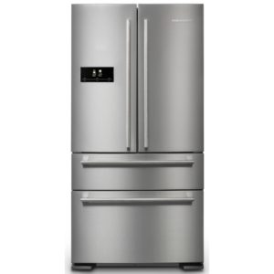 Rangemaster RDXD18SS/C French Style Fridge Freezer Non Ice & Water – STAINLESS STEEL