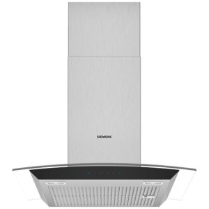Siemens LC67AFM50B IQ-300 60cm Chimney Hood With Glass Canopy – STAINLESS STEEL