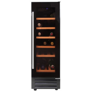 Belling 300BLKWC 3282 30cm Freestanding Under Counter Wine Cooler - BLACK