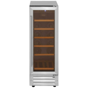 Belling 300WCMK2STA 0918 30cm Freestanding Under Counter Wine Cooler - STAINLESS STEEL