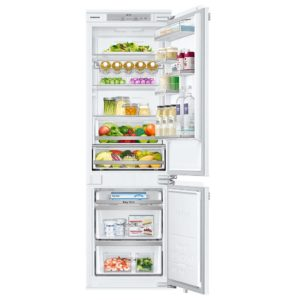 Samsung BRB260130WW 178cm Integrated 70/30 Frost Free Fridge Freezer