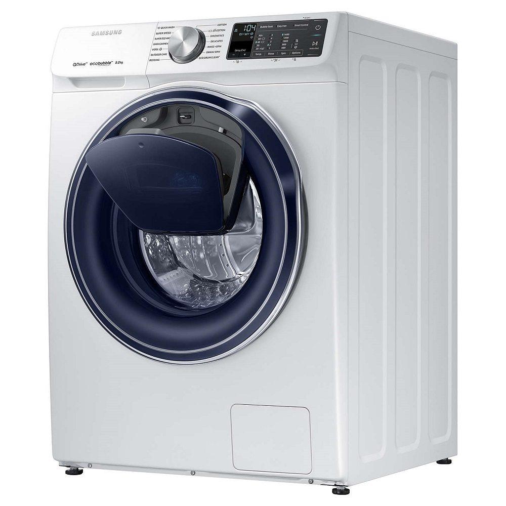 samsung ww80m645opm 8kg quickdrive addwash ww6800 washing. Black Bedroom Furniture Sets. Home Design Ideas