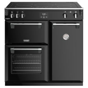 Stoves RICHMOND DX S900EIBK 4905 Richmond Deluxe 90cm Induction Range Cooker – BLACK
