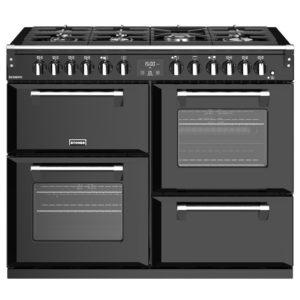 Stoves RICHMOND S1100DFBK 4466 Richmond 1100mm Dual Fuel Cooker - BLACK