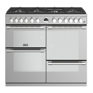 Stoves STERLING S1000DFSS 4492 Sterling 100cm Dual Fuel Range Cooker – STAINLESS STEEL