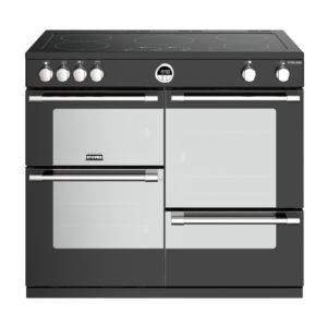 Stoves STERLING S1000EIBK 4497 Sterling 100cm Induction Range Cooker – BLACK