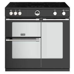Stoves STERLING S900EIBK 4487 Sterling 90cm Induction Range Cooker – BLACK