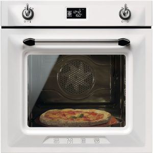 Smeg SFP6925BPZE1 Victoria Single Pyrolytic Multifunction Oven – WHITE