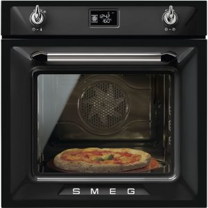 Smeg SFP6925NPZE1 Victoria Single Pyrolytic Multifunction Oven – BLACK
