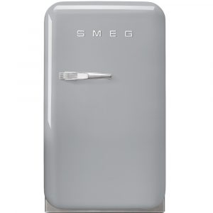 Smeg FAB5RSV Silver Retro Mini Bar Fridge Right Hand Hinge – SILVER