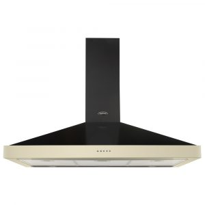 Belling FARMHOUSE90CHIMCRM 90cm Chimney Hood – CREAM