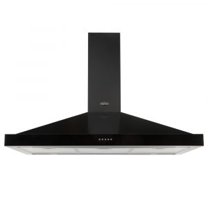 Belling FARMHOUSE110CHIMBLK 110cm Chimney Hood – BLACK