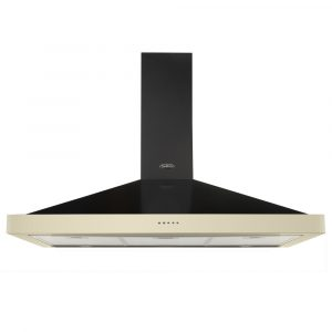 Belling FARMHOUSE110CHIMCRM 110cm Chimney Hood – CREAM