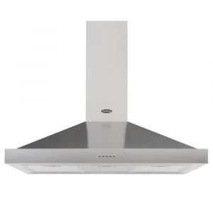 Belling COOKCENTRE90CHIMSTA 90cm Chimney Hood – STAINLESS STEEL