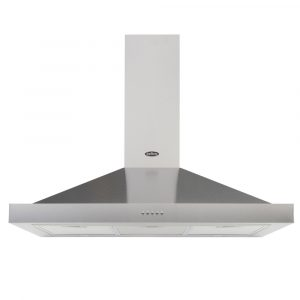 Belling COOKCENTRE100CHIMSTA 100cm Chimney Hood – STAINLESS STEEL