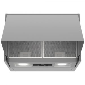 Neff D64MAC1X0B 60cm Integrated Cooker Hood – SILVER