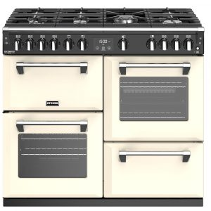 Stoves RICHMOND DX S1000GCC 4914 Stoves Richmond Deluxe 100cm Gas Range – CREAM