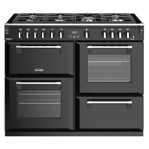 Stoves RICHMOND DX S1100GBK 4923 Stoves Richmond Deluxe 110cm Gas Range – BLACK