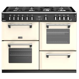 Stoves RICHMOND DX S1100GCC 4924 Stoves Richmond Deluxe 110cm Gas Range – CREAM
