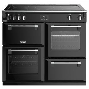 Stoves RICHMOND DX S1000EIBK 4915 Richmond Deluxe 100cm Induction Cooker – BLACK