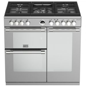 Stoves STERLING DX S900GSS 4936 Sterling Deluxe 90cm Gas Range Cooker – STAINLESS STEEL