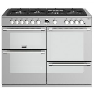 Stoves STERLING DX S1100GSS 4956 Sterling Deluxe 110cm Gas Range Cooker - STAINLESS STEEL