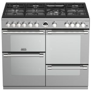 Stoves STERLING DX S1000GSS 4946 Sterling Deluxe 1000mm Gas Cooker – STAINLESS STEEL