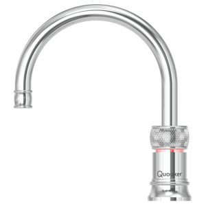 Quooker PRO3 CLASSIC NORDIC ROUND CH Classic Nordic Boiling Water Tap - CHROME
