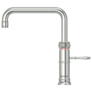 Quooker PRO3 CLASSIC FUSION SQUARE SS Classic Fusion 3-in-1 Boiling Water Tap – STAINLESS STEEL