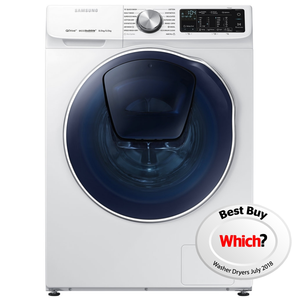 Samsung Wd80n645oow 8kg Quickdrive Addwash Wd6800 Washer