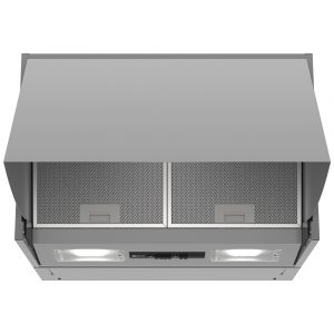 Neff D64MAC1X0B 60cm Integrated Cooker Hood - SILVER