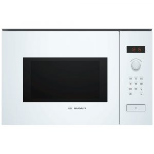 Bosch BFL553MW0B Built In Compact Microwave For Tall Housing – WHITE