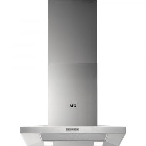 Caple OM600 60cm Angled Chimney Hood – BLACK