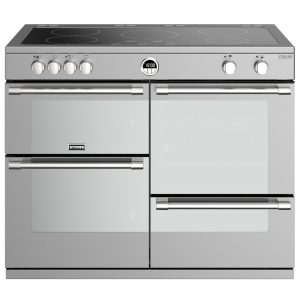 Stoves STERLING DX S1100EISS 4960 Sterling Deluxe 110cm Induction Range Cooker – STAINLESS STEEL