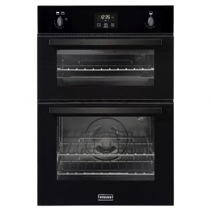 Stoves BI900GBLK 4843 Built In Double Gas Oven – BLACK