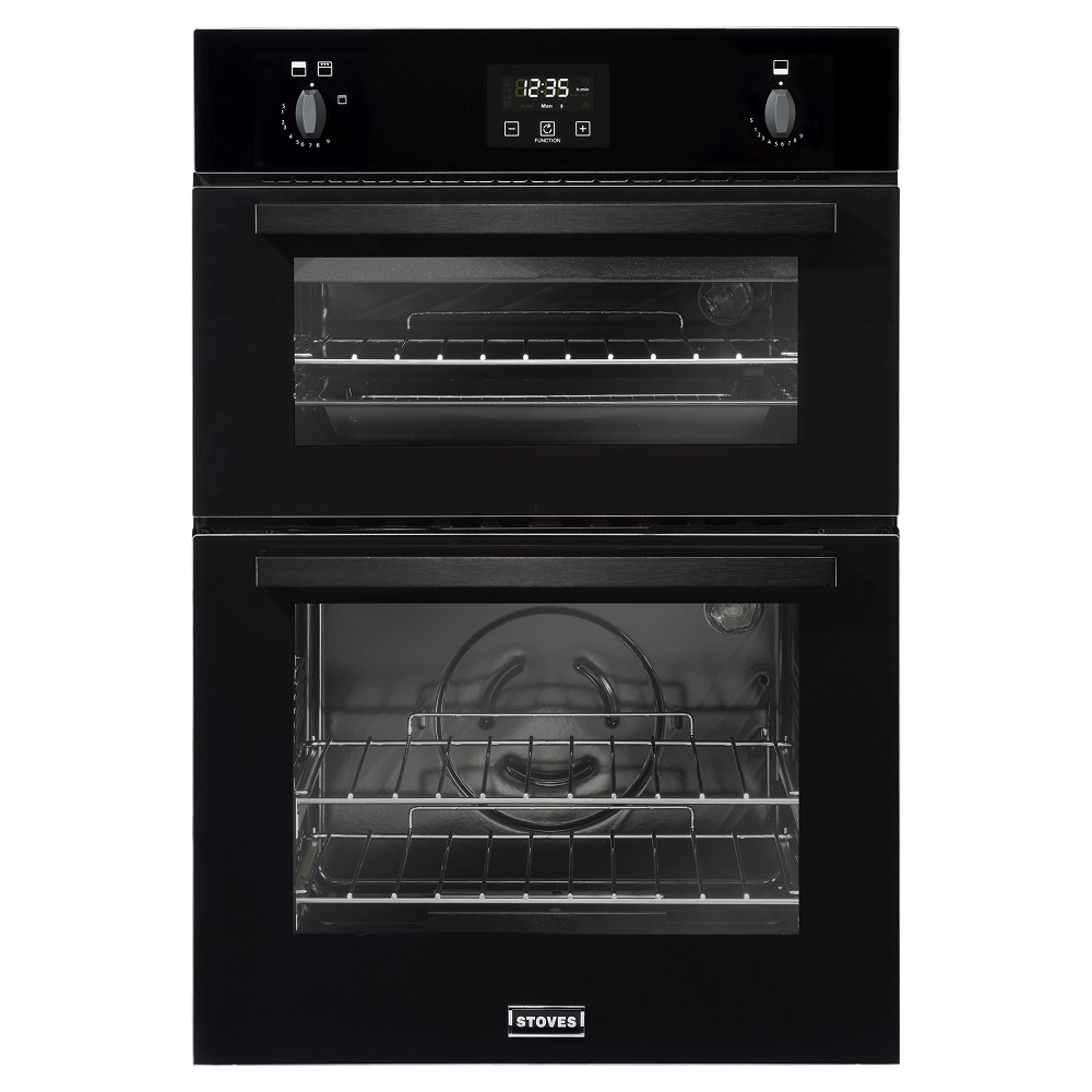 Stoves Bi900gblk 4843 Built In Double Gas Oven Appliance