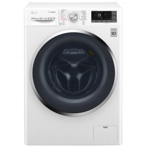 LG F4J8JH2WD 10.5kg Direct Drive Eco Hybrid TrueSteam Washer Dryer 1400rpm - WHITE