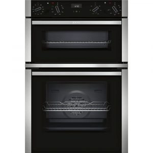 Neff U1ACE5HN0B N50 CircoTherm Built In Double Oven - STAINLESS STEEL
