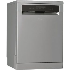 Hotpoint HFP4O22WGCX 60cm Freestanding Dishwasher - STAINLESS STEEL