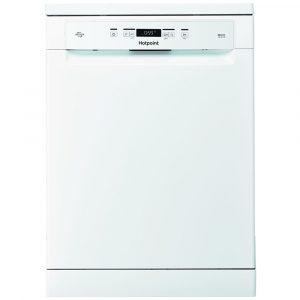 Hotpoint HFO3C22WF 60cm Freestanding EcoTech Dishwasher – WHITE