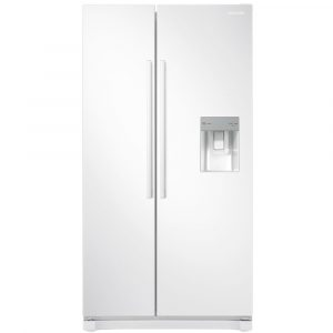 Samsung RS52N3313WW American Style RS3000 Fridge Freezer With Water Dispenser – WHITE