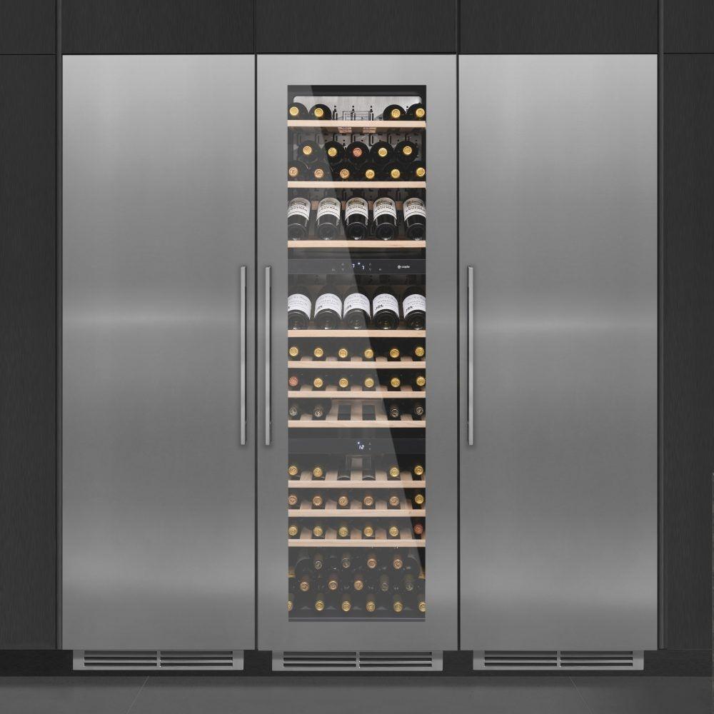 Caple Wc1791 179cm Integrated In Column Triple Zone Wine