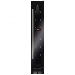 CDA FWC153BL 15cm Freestanding Under Counter Wine Cooler - BLACK