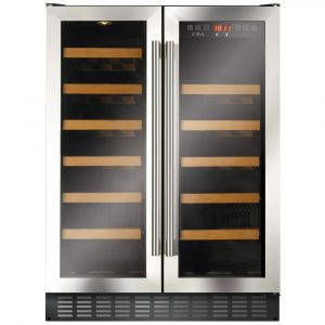 CDA FWC624SS 60cm Freestanding Under Counter Wine Cooler - STAINLESS STEEL