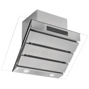 Caple SP612SS 60cm Spirit Angled Chimney Hood – STAINLESS STEEL