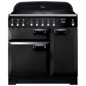 Rangemaster ELA90EIBL/ Elan Deluxe 90cm Induction Range Cooker 118400 – BLACK