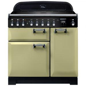 Rangemaster ELA90EIOG/ Elan Deluxe 90cm Induction Range Cooker 118440 – GREEN