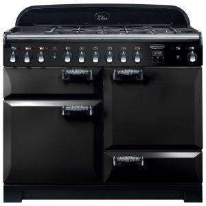 Rangemaster ELA110DFFBL/ Elan Deluxe 110cm Dual Fuel Range Cooker 118000 – BLACK